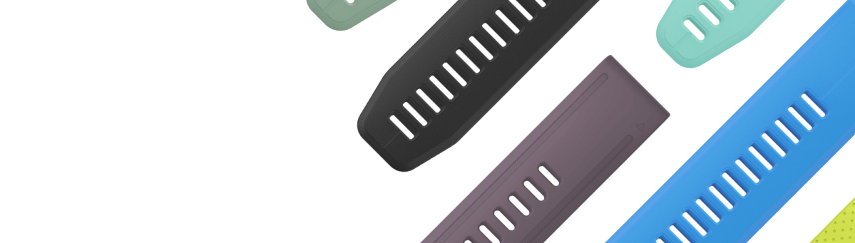 QuickFit® bands let you match your style with no tools required.